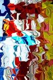 Waves of Color Background. Colors Swirling together to make a background vector illustration