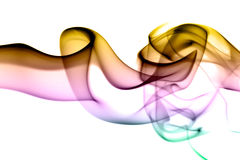 Waves of colors Royalty Free Stock Photography