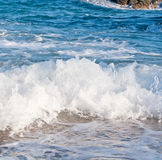 Waves coming Stock Photography