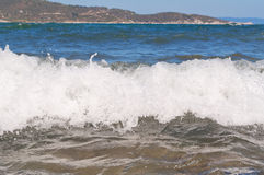 Waves coming Stock Photos