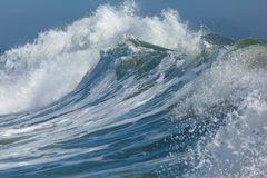 Deal New Jersey Waves Royalty Free Stock Photo