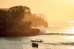 Waves Crash Royalty Free Stock Photography