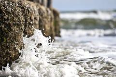Waves crashing Stock Photography