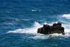 Free Waves Crashing At Rock In The Atlantic Ocean Royalty Free Stock Images - 5671629