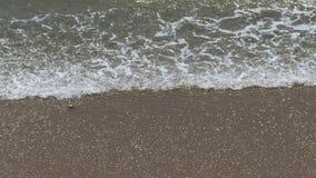Waves Crashing on Beach Stock Photo