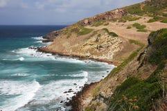 Waves crashing on cliff 31 Stock Image