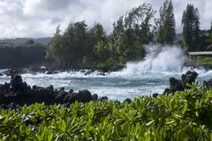 Keanae Point stock images