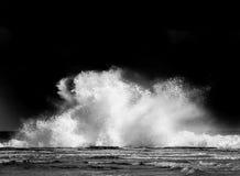 Waves crashing at Coledale Royalty Free Stock Images