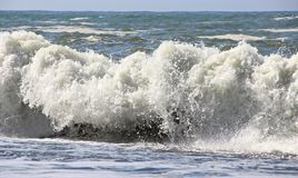 Waves crashing Stock Photography