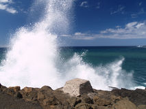 Free Waves Crashing On Cliffs Stock Images - 3327694