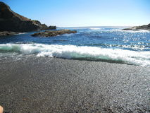 Waves crashing at Point Lobos State Park, CA Stock Images