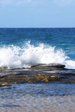 Waves Crashing Stock Photo