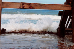 Waves of Cromer Royalty Free Stock Images