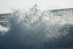 Waves crushing Stock Photo