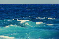 Waves in Cyprus Royalty Free Stock Photography