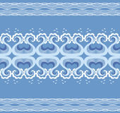 Waves decoration Royalty Free Stock Image