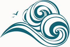Waves decorative