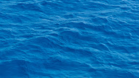 Waves of deep blue sea Stock Image