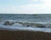 waves för textur för hav för illustrationsdesign naturliga Arkivfoto