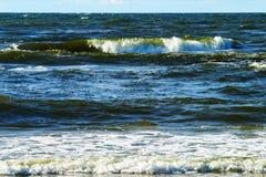waves för textur för hav för illustrationsdesign naturliga Royaltyfria Bilder