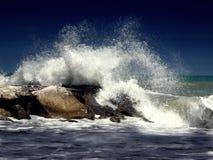 waves för textur för hav för illustrationsdesign naturliga Fotografering för Bildbyråer