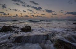 waves för textur för hav för illustrationsdesign naturliga Arkivbilder