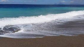 waves för textur för hav för illustrationsdesign naturliga arkivfilmer