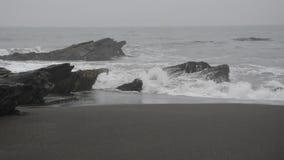 waves för wave för fokusförgrundshav stock video