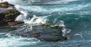 waves för wave för fokusförgrundshav Arkivfoto