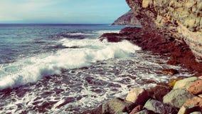 waves för wave för fokusförgrundshav Royaltyfri Foto