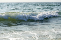 Waves forming on the sea Stock Image