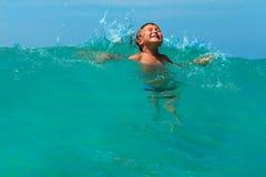 Waves fun Stock Photo