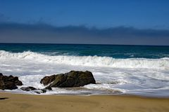 Waves at Big Sur California Royalty Free Stock Photography