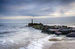 Waves at Hengistbury Head Stock Photography