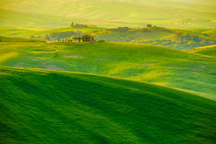 Waves Hills, Rolling Hills, Minimalistic Landscape Stock Image