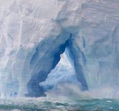 Waves in iceberg Stock Photos