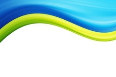 Waves illustration Stock Image