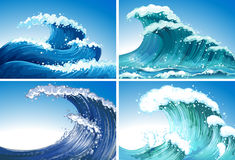 Waves royalty free illustration