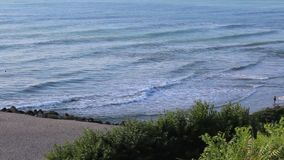 Waves. Image was shot in Bulgaria beach stock footage
