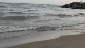 Waves. stock footage
