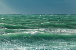 Choppy sea Royalty Free Stock Photos