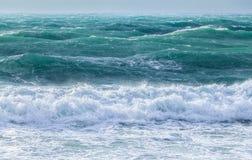 Storm at sea Stock Image