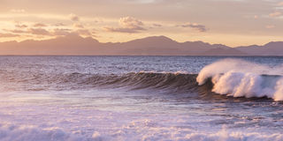 Waves in Mallorca Stock Photography