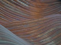 Waves of metal Stock Photography