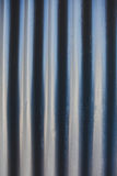 Waves metal sheets. Royalty Free Stock Photos