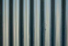 Waves metal sheets. Stock Image