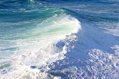 Waves at Nazare Royalty Free Stock Images