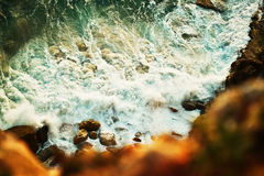 Waves Of Nazare Royalty Free Stock Images