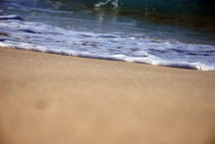 Waves on the North Coast of Egypt Royalty Free Stock Photography
