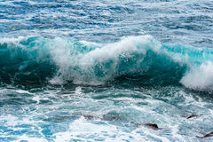 Waves in ocean Royalty Free Stock Photography